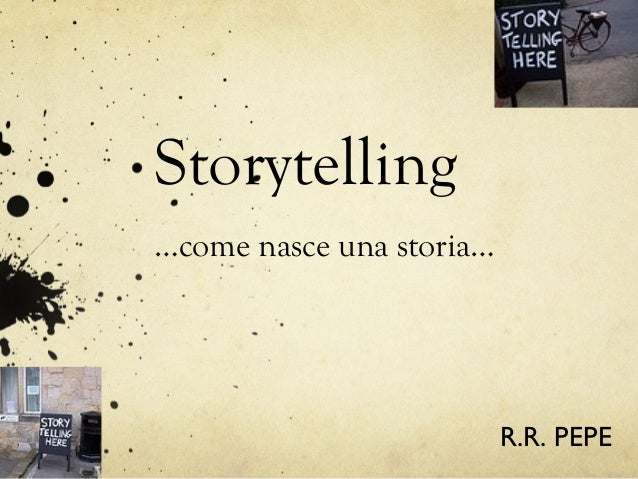 Storytelling pepe