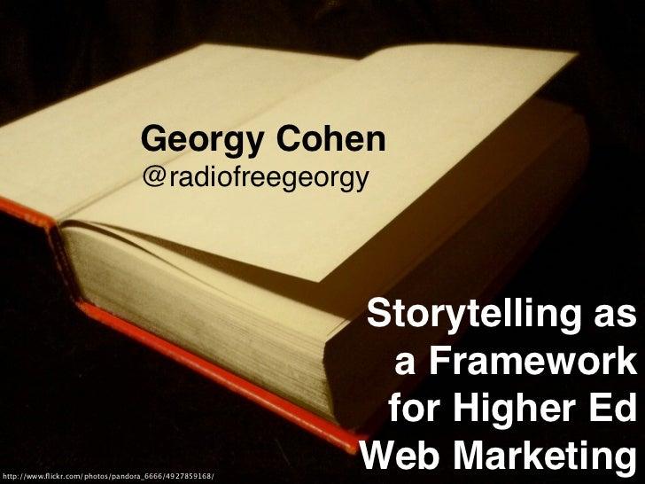 Georgy Cohen                                 @radiofreegeorgy                                                       Storyt...