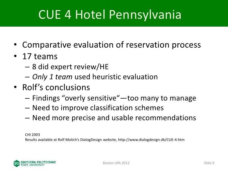 Evaluation vs. Review?