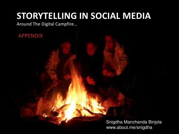SOCIAL STORYTELLING: A Workshop on Creating Content for the Social Web