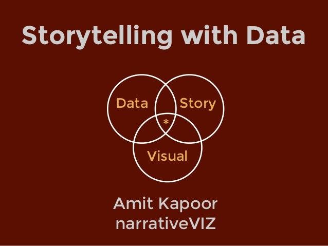 Amit Kapoor narrativeVIZ Storytelling with Data Data Visual Story *
