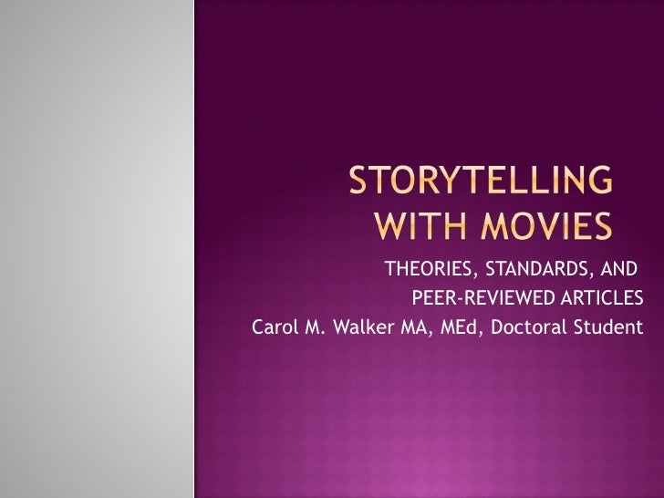 Storytelling With Movies