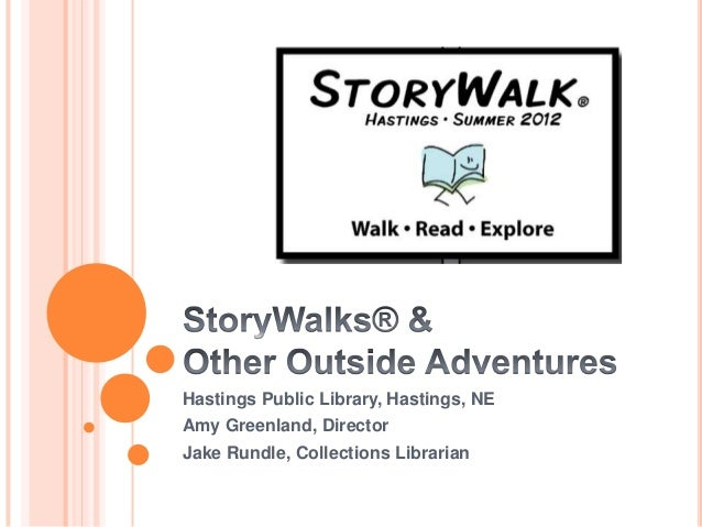 NCompass Live: Hastings StoryWalk: Walk, Read, Explore