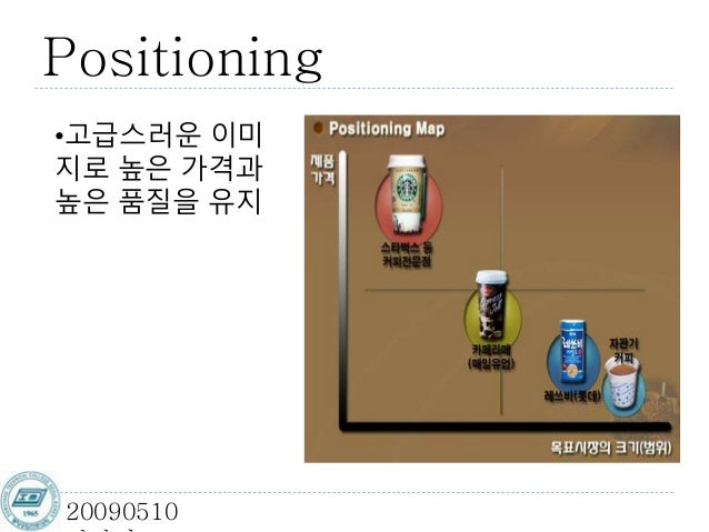 스타벅스의 마케팅과 Stp전략