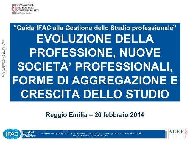 Società tra professionisti - Gianfranco Barbieri - Reggio Emilia, 20/02/2014