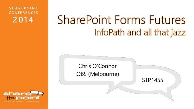 The Future Of Forms (InfoPath)