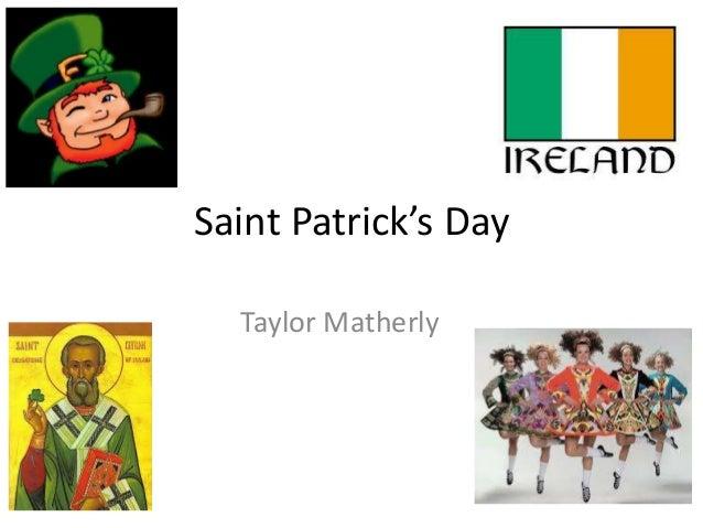 Saint Patrick's Day Taylor Matherly