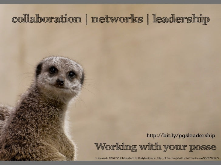 collaboration | networks | leadership || a workshop