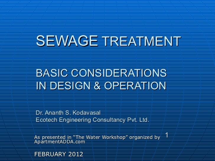 Stp Designs Dr Ananth Kodavasal