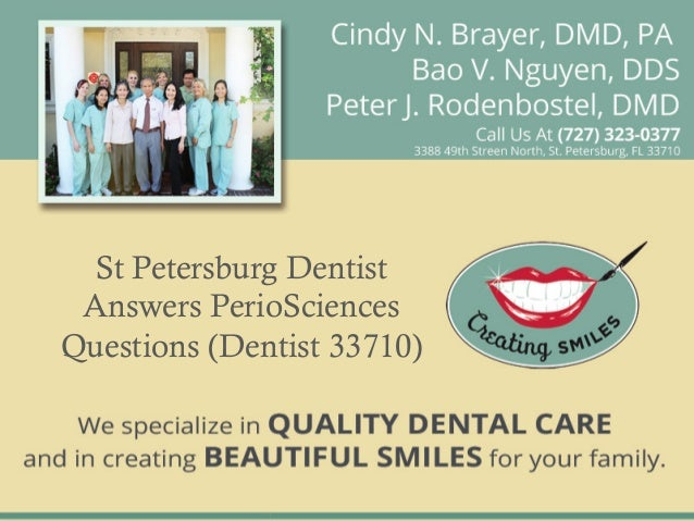 St petersburg dentist answers perio sciences questions (dentist 33710)