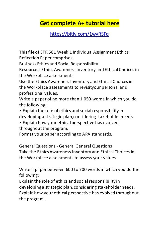 Ethics, Responsibility or Sustainability in Business Essay Sample
