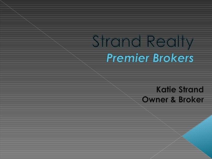 Strand- Sales Training