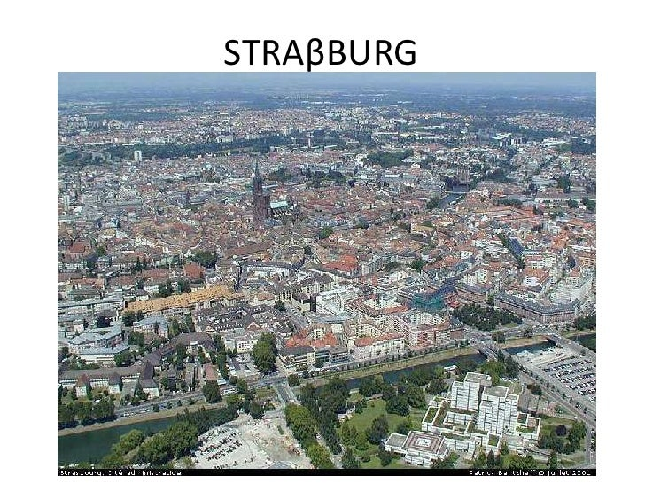 STRAβBURG<br />