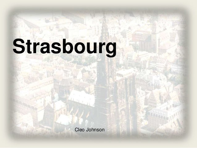Strasbourg Cleo Johnson