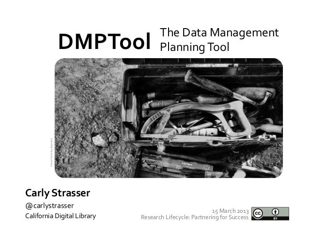 DMPTool at NNLM Research Lifecycle: Partnering for Success