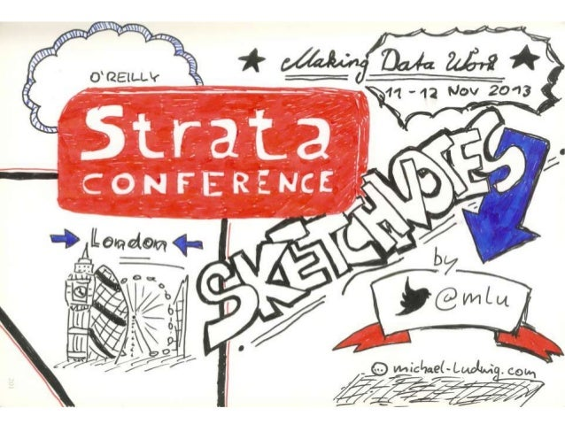 Strata Big Data Conference London 2013 Sketchnotes