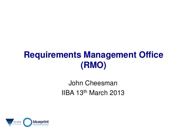 Requirements Management Office - Strata