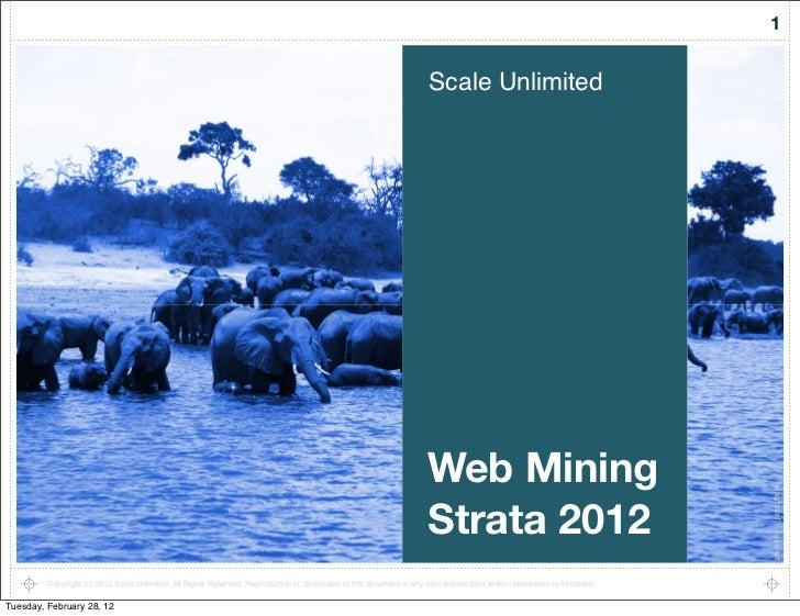 Strata web mining tutorial