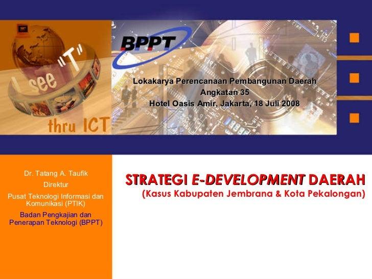 Strategi E Development
