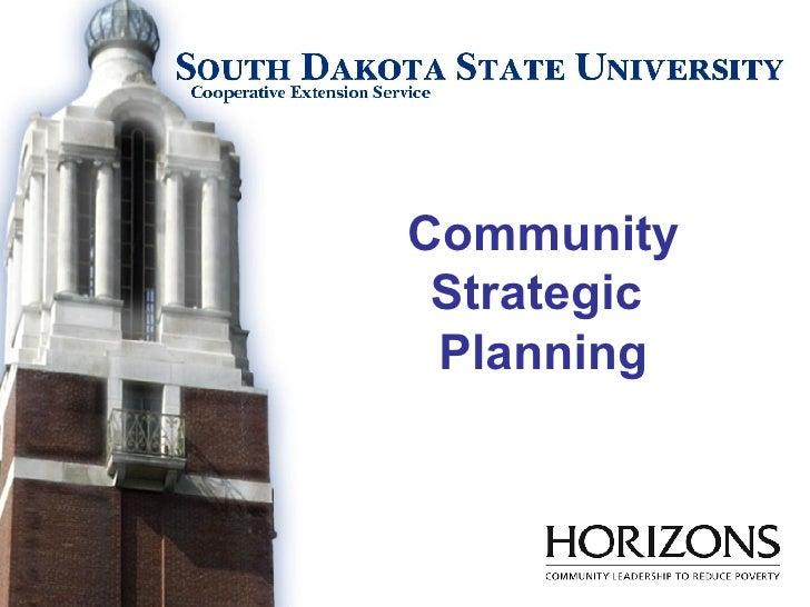 Community Strategic  Planning