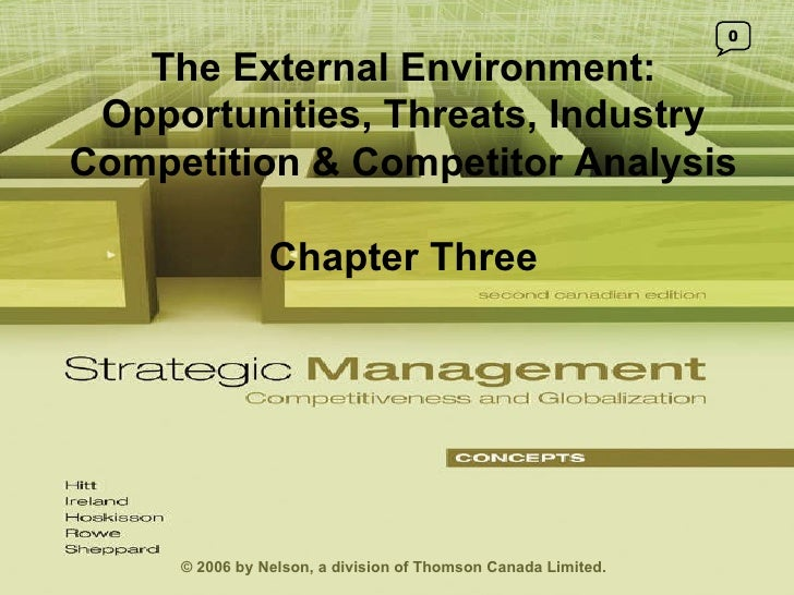 Strategic Management Ch03