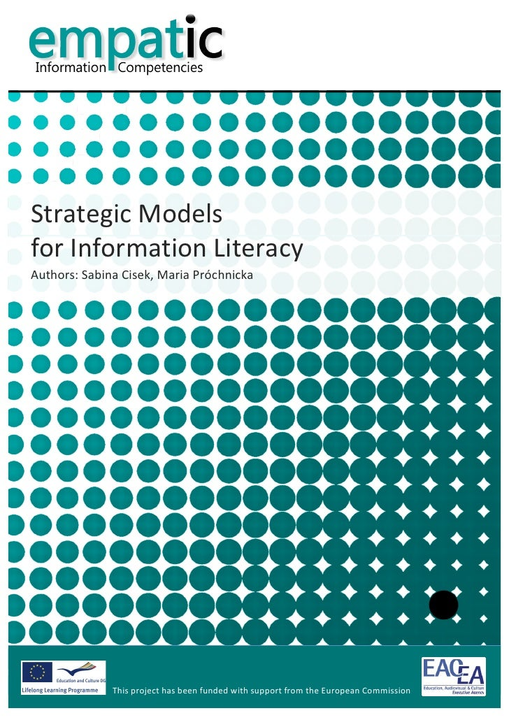 Strategic Models for Information Literacy