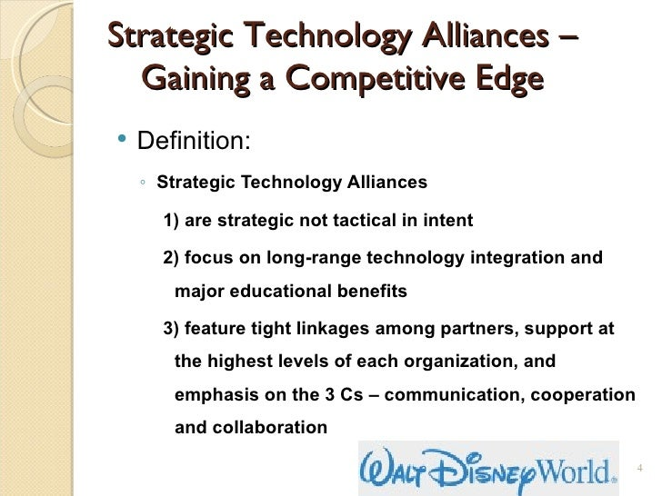 strategic alliances to gain global integration Strategic alliances when companies want to quickly gain a new area of thunderbird school of global between a joint venture & strategic alliance.