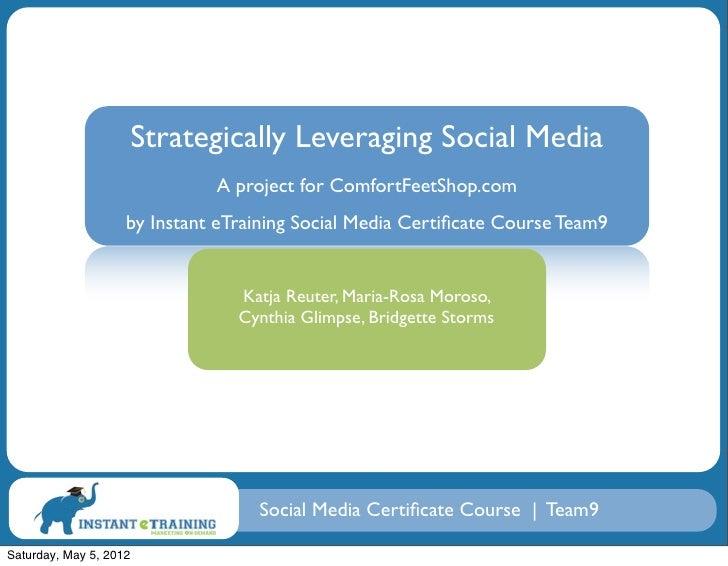 Strategically Leveraging Social Media