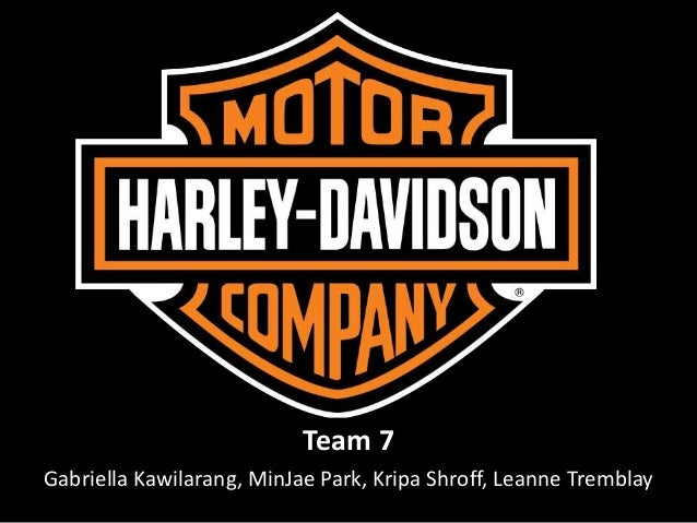 an analysis of the strategy of harley davidson company Harley-davidson, inc: a strategic audit analysis business harley-davidson,  inc, known for its famous bar and shield trademark, is based.