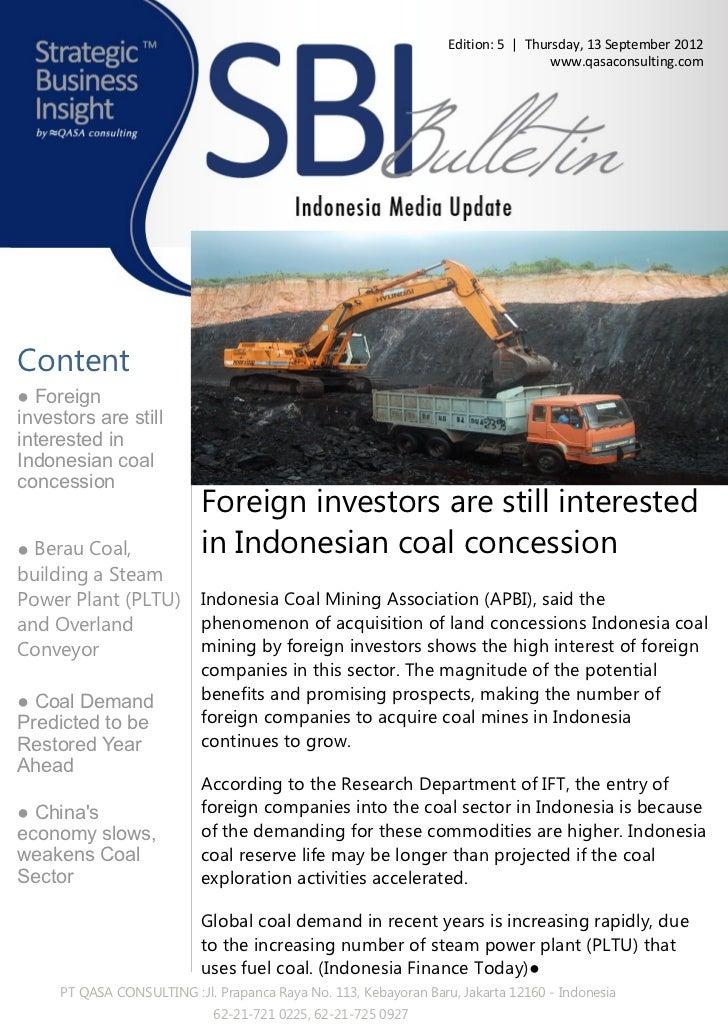 Qasa - Strategic business insight e bulletin mining
