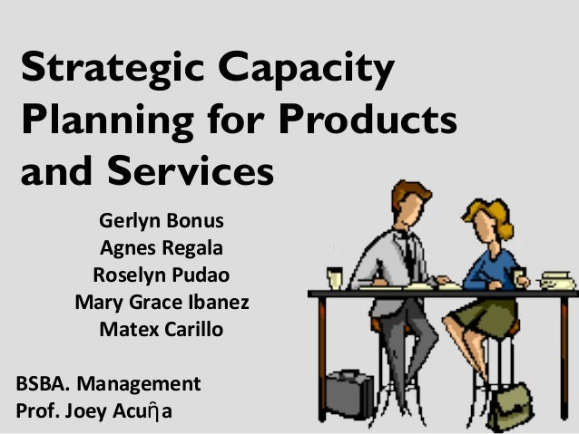 small business capacity planning