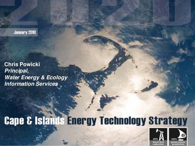 Chris PowickiPrincipal,Water Energy & EcologyInformation Services