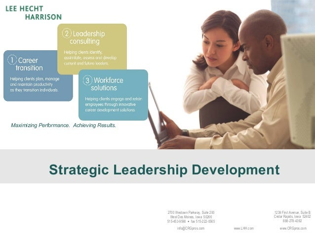 Strategic leadership development content