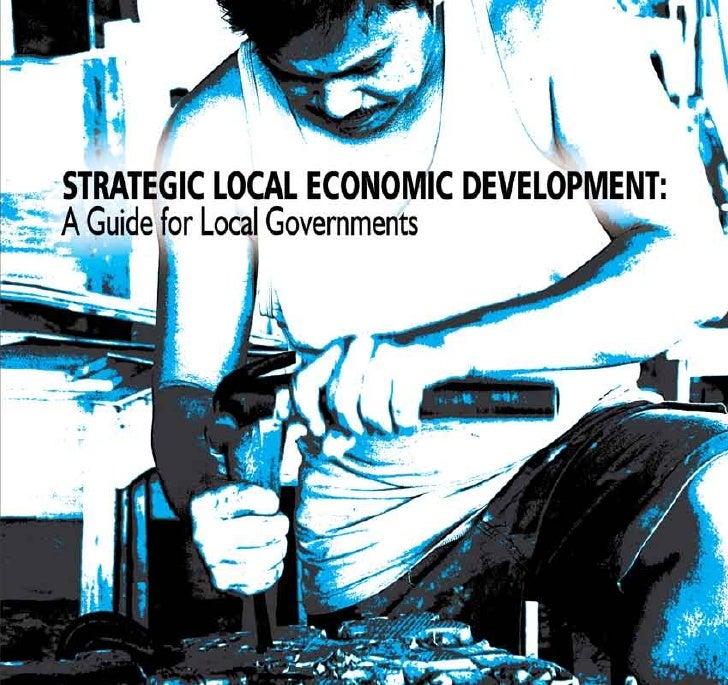 Strategic Local Economic Development: A Guide for Local Governments