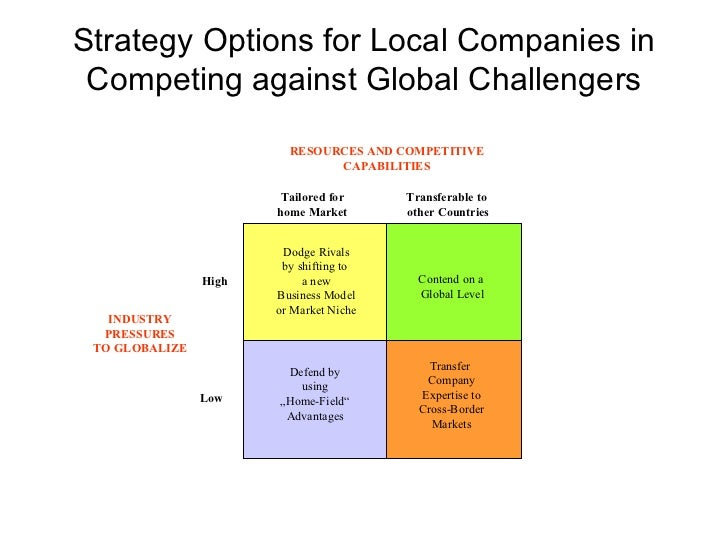 an examination of the global niche strategy Purpose – to examine how companies in the maturity stage of the product life cycle can implement and maintain a successful niche market strategy to increase competitiveness in the face of new competition, with particular reference to the global textile industry.