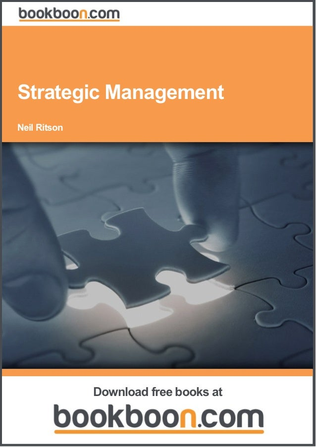 Strategic Management Neil Ritson                Download free books at