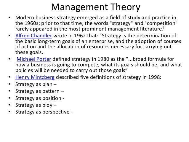 strategic management practice and theory of Management: theory and practice strategic management process a theory used to explain how we judge people differently based on what meaning we attribute to.