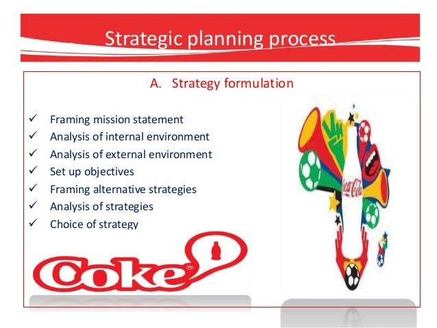 Strategic Management Analysis Of Coca Cola Coursework Academic
