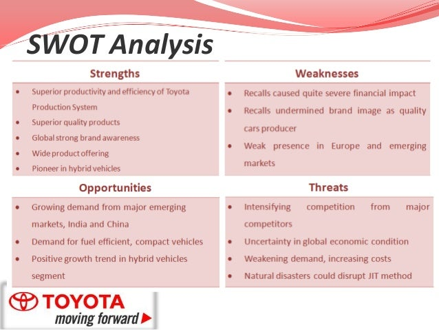 toyota motor manufacturing case study analysis The case of toyota recall by traceability data that can be shared with suppliers for effective root cause analysis paper type: case study by the toyota motor.
