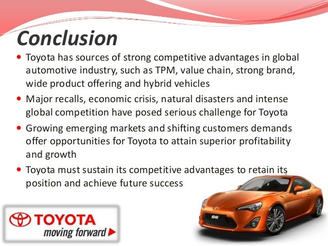 operation and supply chain strategy in toyota Toyota vowed at the time to address these issues, which were thought to be mostly a problem in its north american operations now, of course, its faces even bigger issues, which could do long term damage to toyota's brand and global sales.