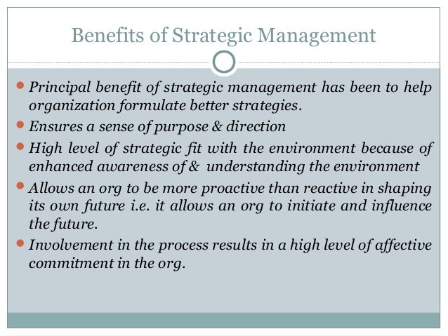 Research thesis on strategic management