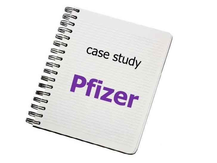 pfizer case study analysis