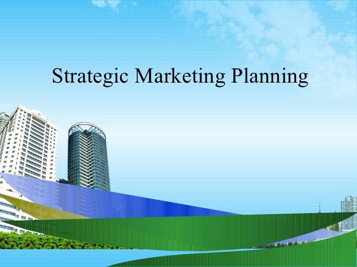 Strategic marketing planning ppt @ bec doms