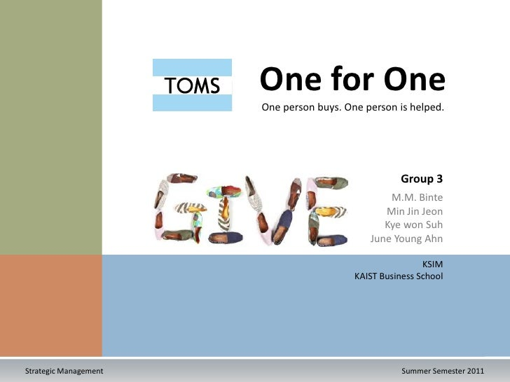 """essays on toms shoes Free essay: 2011) social environment toms shoes main commitment is """"to create the biggest impact possible with the shoes [they] give- improving children's."""