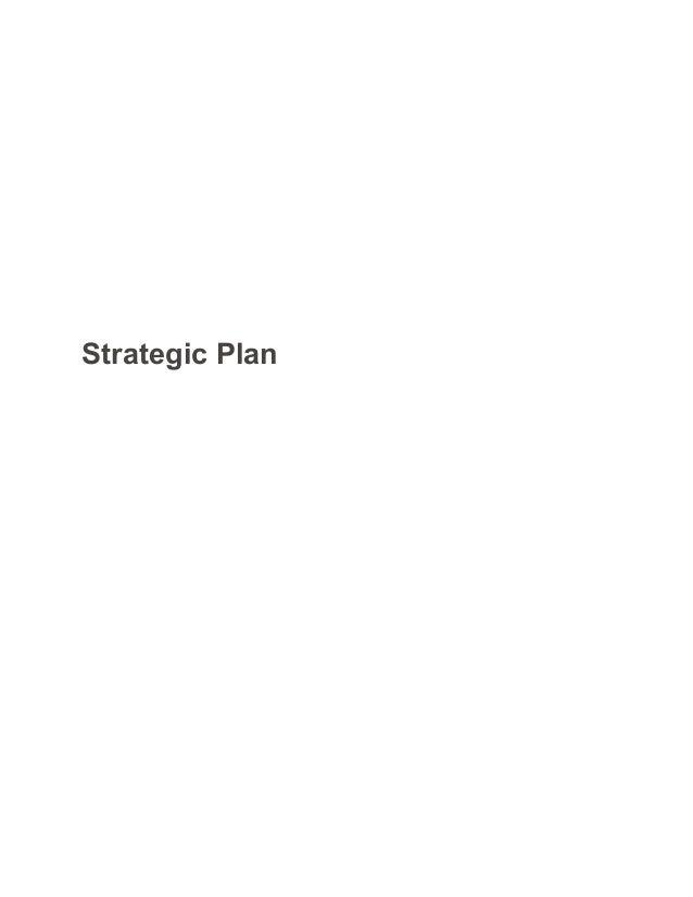 STRATEGIC PLANNING Essay