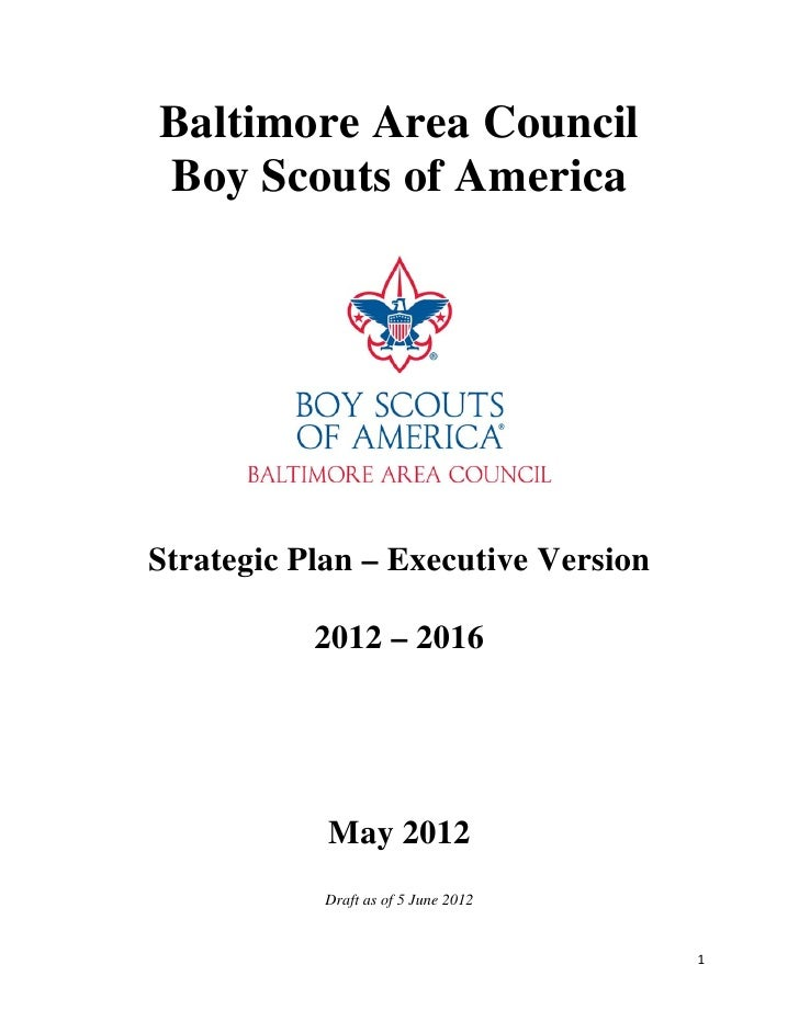 Strategic Plan for Central Maryland Executive Version