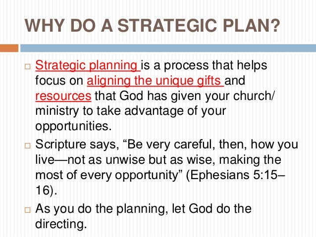 strategic church finances Every business has similar financial management goals, whether they're handled by a separate finance department or a small startup's core partnership.
