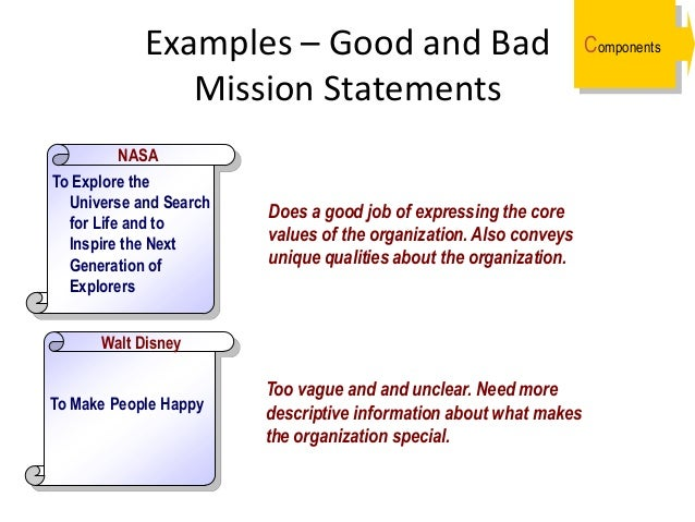 Worst mission statements