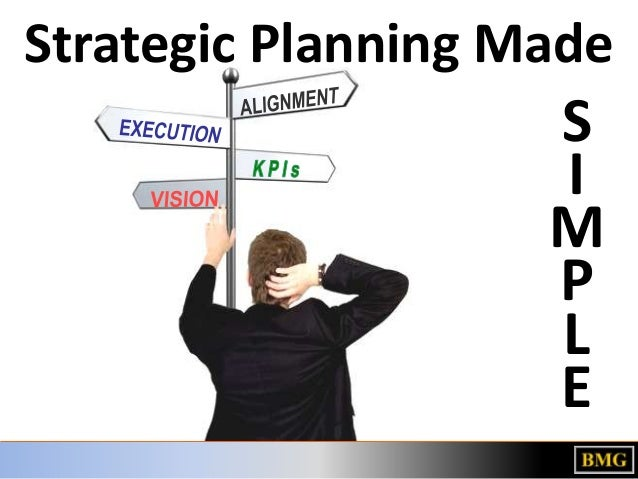 Strategic Planning Made  S I M P L E