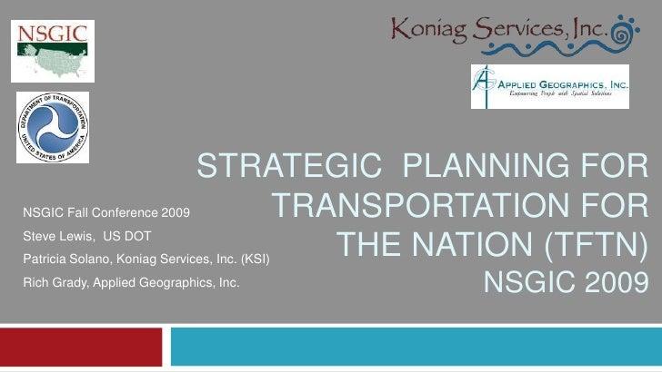 TFTN Strategic Planning